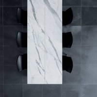 Living _ Dining - Dining Desk - Natural Stone - Cl