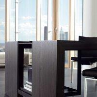 Living _ Dining - Dining Desk - Veneer - Desk clos