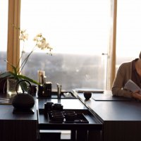 Living _ Dining - Dining Desk - Veneer - People re