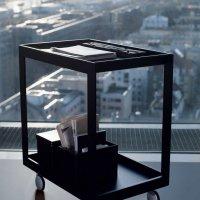 Living _ Dining - Dining Desk - Veneer - Trolley