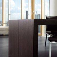 Living _ Dining - Dining Desk - Veneer closeup
