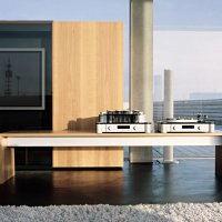 Living _ Dining - Swiss Peartree - Highboard with  (1)