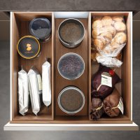 Poggenpohl Accessories - Drawers with boxes - nut tree