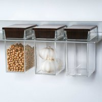 Poggenpohl Accessories - Wall system with in-shelf (1)