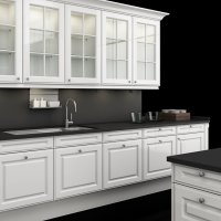 Poggenpohl +EDITION kitchen - HP 670 white high-gloss - cabinet closeup a