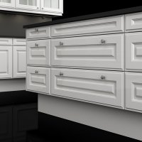 Poggenpohl +EDITION kitchen - HP 670 white high-gloss - island closeup a