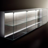Poggenpohl Porsche Design Kitchen P7340 - Modular System - Glass Shelf