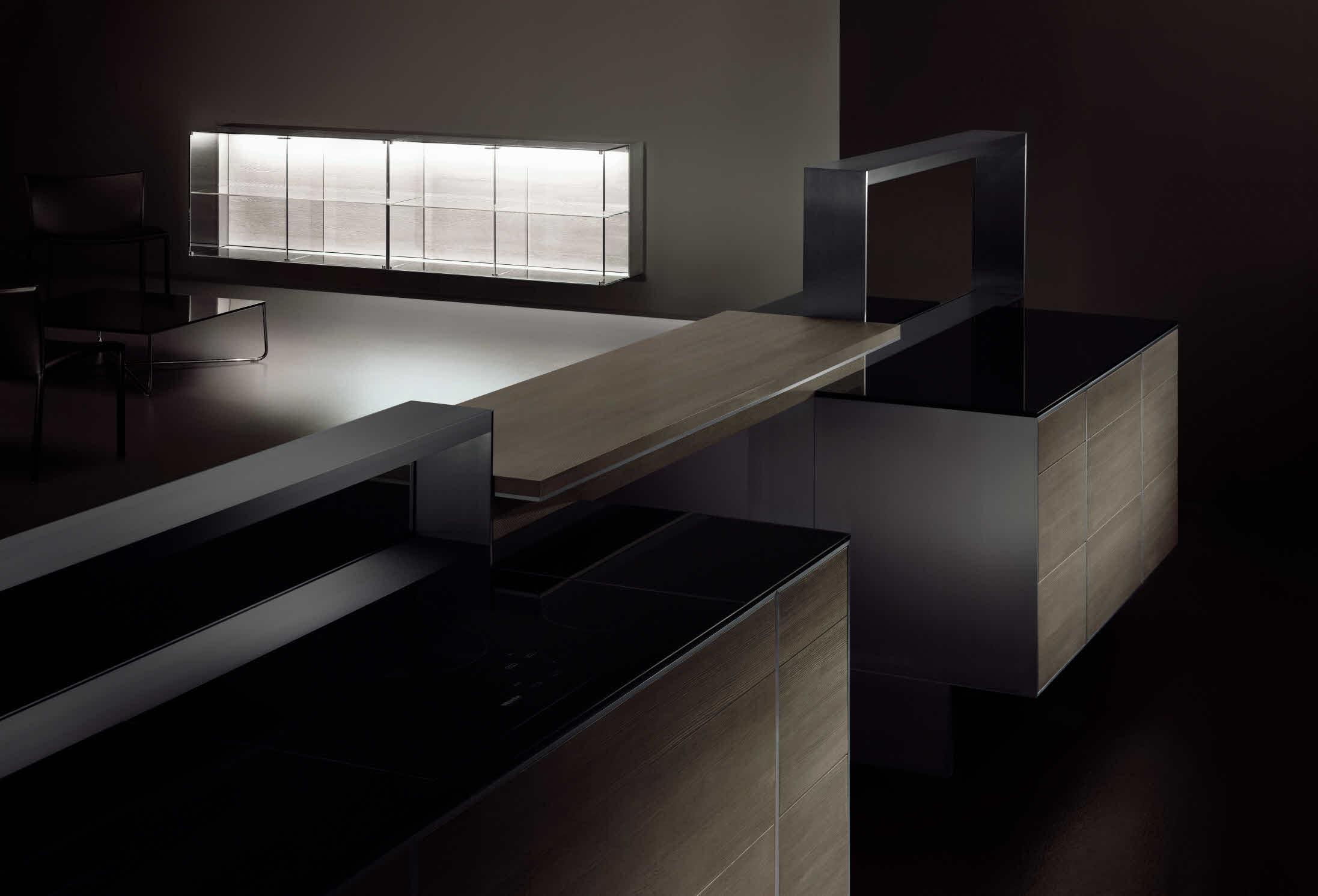 Porsche Design Keuken : Poggenpohl Porsche Design Kitchen P7340 ...